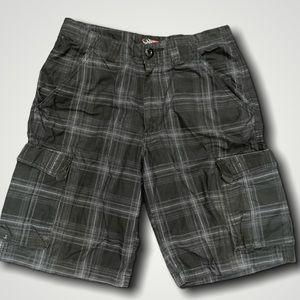 🍄2/$30🍄 Motogear Lightweight Plaid Shorts